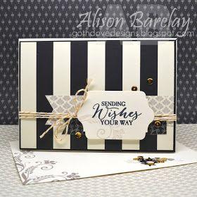 Gothdove Designs - Alison Barclay - Stampin' Up! Australia - Stampin' Up! Timeless Elegance Designer Series Paper #stampinup