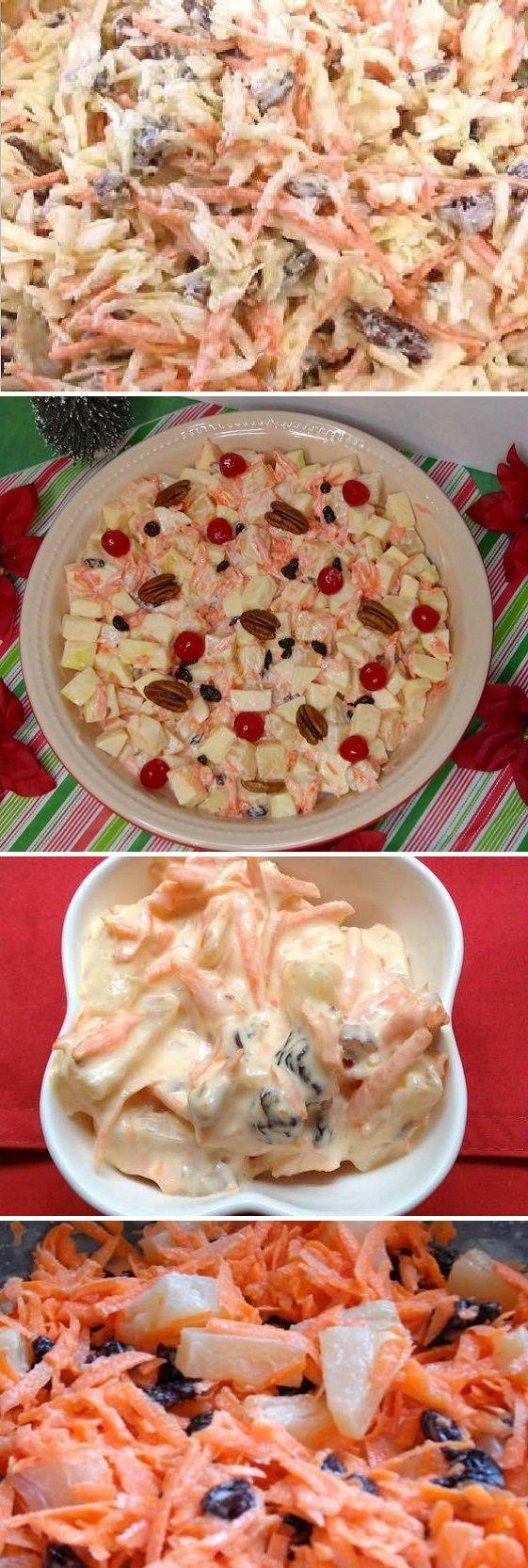 """La Mejor Ensalada del Mundo """"Manzana, Piña y Zanahoria"""" #ensaladas #salud #saludable #salad #receta #recipe #tasty #food Si te gusta dinos HOLA y dale a Me Gusta MIREN…"""