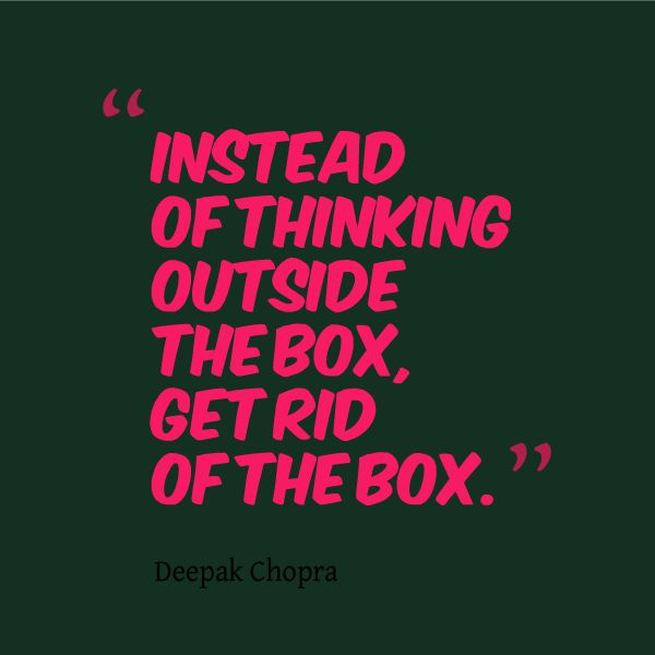 Best Creative Quotes: 25+ Best Ideas About Thinking Outside The Box On Pinterest