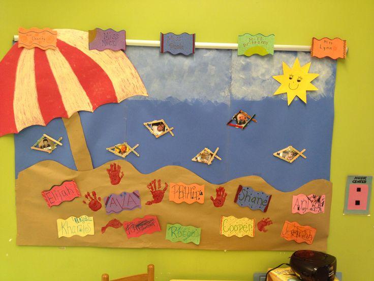 Beach Towel Craft Preschool
