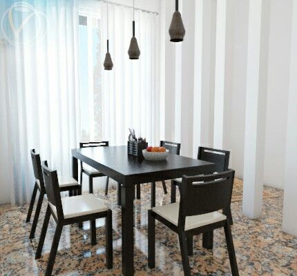 Dining room, Interior Project In Makassar, South Sulawesi, Indonesia.
