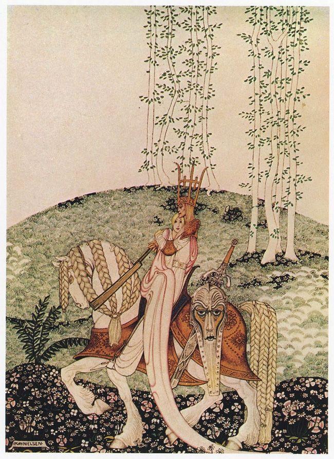 Kay Nielsen's Stunning 1914 Illustrations of Scandinavian Fairy Tales