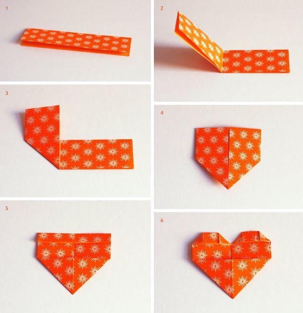 origami cuore - Cerca con Google