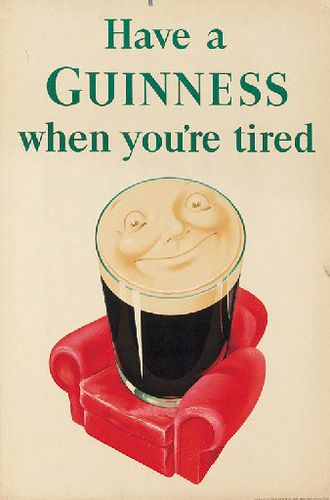 35 Deliciously Fun Vintage Guinness Ads for office