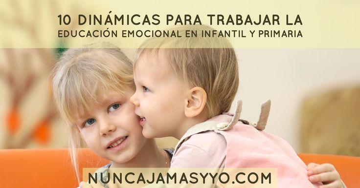 10 dinámicas para trabajar la educación emocional en infantil y primaria