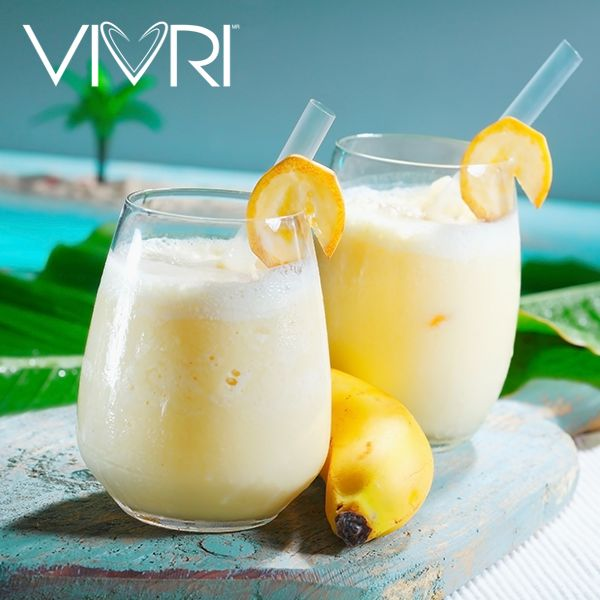Soothe digestion, heartburn, nausea, and other stomach trouble with the fresh ginger in this natural remedy drink. 2 SERVINGS: 1 banana sliced. ¾ c (6 oz) vanilla yogurt, 1 tbsp honey, ½ tsp freshly grated ginger. 157 calories per serving #VIVRI #smoothie #fitness #healthy #health #nutrition