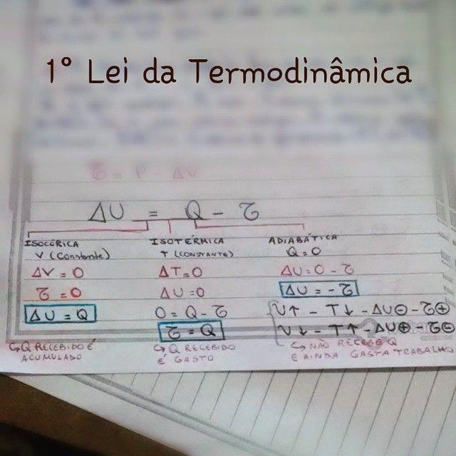 #resumo #fisica #termodinamica