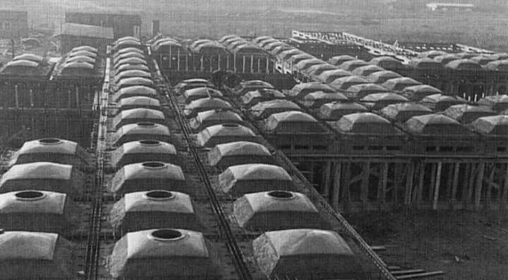 Amsterdam Orphanage under construction_Aldo Van Eyck, 1960