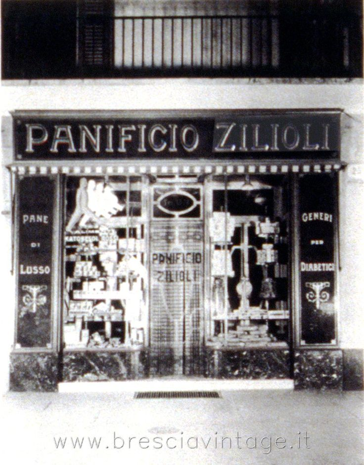 Panificio Zilioli - Via Gramsci http://www.bresciavintage.it/brescia-antica/foto-d-autore/panificio-zilioli-via-gramsci/