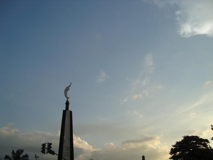Tugu Kujang Bogor, Indonesia