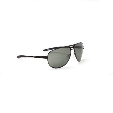 Optic Nerve Pondhawk Polarized Wire Sunglasses Silver, Black
