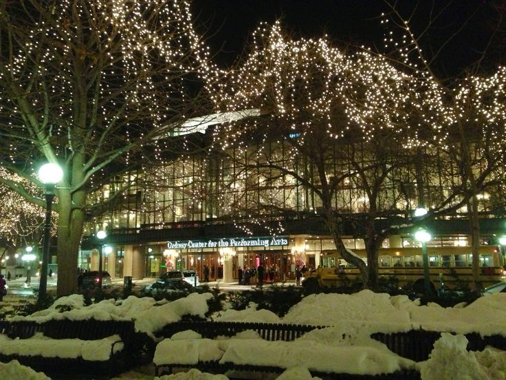 the ordway at christmastime st - Christmas Lights Minneapolis