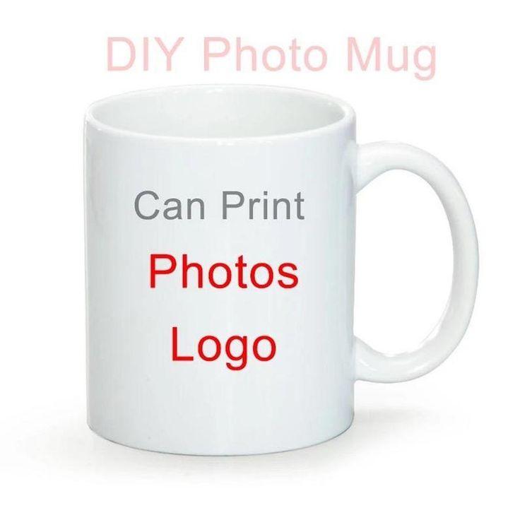 Custom Photo Coffee Mugs Personalized Mugs w/Picture Text ...