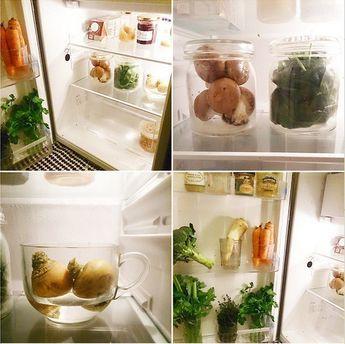 Conservation optimale de vos produits frais. Zéro Déchet, Zero Waste, Anti gaspi, Anti gaspillage alimentaire, zero waste fridge, frigo zéro déchet,