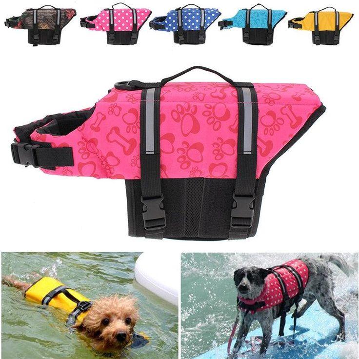 Dog Floater Vest - Reflective