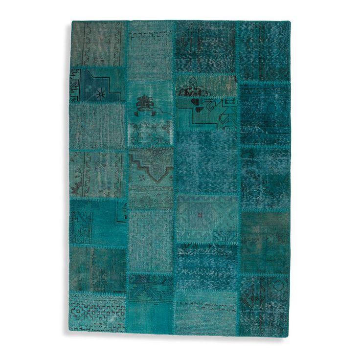 Tibeter / moderne Orientteppiche - Teppich Vintage Patchwork  - 601.252.1