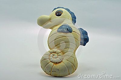 Sea Horse Ceramic Bathroom Ornament - Download From Over 48 Million High Quality Stock Photos, Images, Vectors. Sign up for FREE today. Image: 37121659
