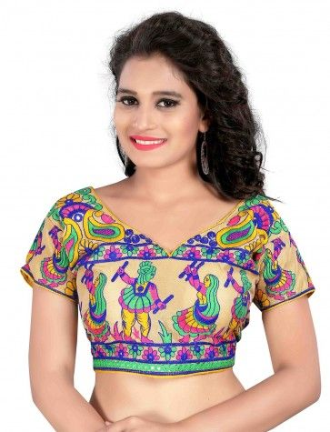 c2f6f745c0726c Buy Kuvarba Fashion Multicolor Cotton Blouses at low prices in India only  on Winsant.com