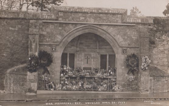 Wreaths at War Memorial Ely Cambridgeshire Cambs Real Photo Postcard | eBay