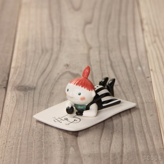 """my personal """"pippi longstocking"""" as a lucky charm for my daily biz ;-) Arabia Moomin"""