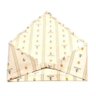 昨日の記事に引き続き、ゴム付き三角巾の作り方を紹介したいと思います。 前回の記事で「三角巾の角を上手に縫う方法…