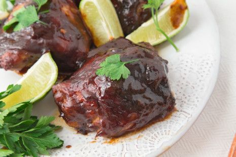 Not being a big fan of Barbecue, but Loving a man who LOVES it, i have to give in once in a while. Heres my take ( and I think Rys favorite), on the classic. Made with Pre-made Barbecue Sauce ( I Prefer BullsEye) Its baked in the oven for convenience.