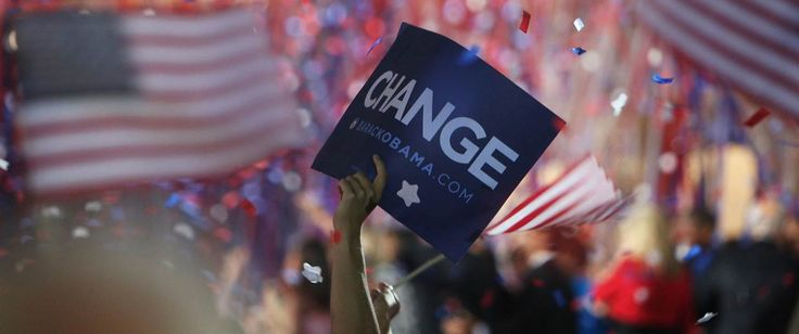 More Americans are clamoring for change in the upcoming 2016 presidential election than they were in 2008, according to a new NBC/WSJ poll.
