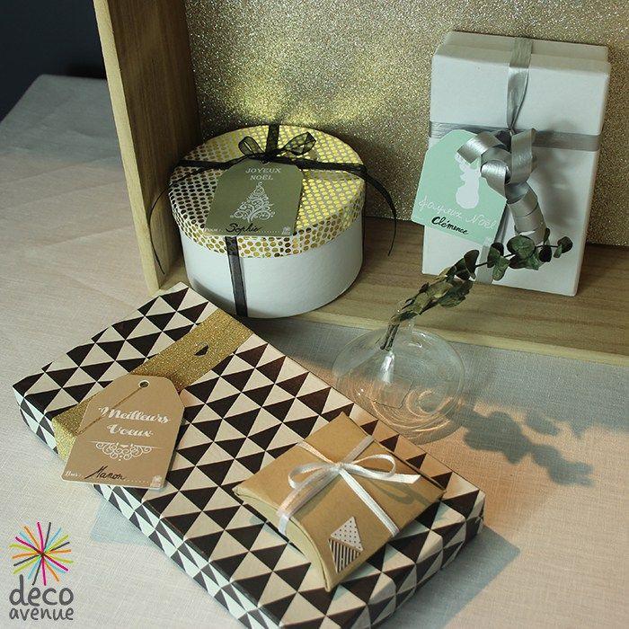 Beaux paquets cadeaux - Décoavenue - Cabinet de curiosités créatives