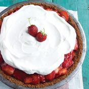 Strawberry Icebox Pie, Recipe from Cooking.com