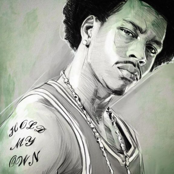 Allen Iverson 'Hold My Own' Sketch