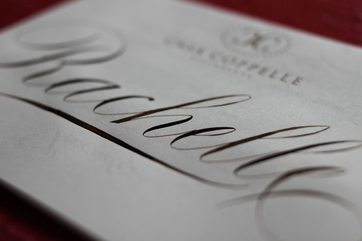 #placecard #menu #calligraphy