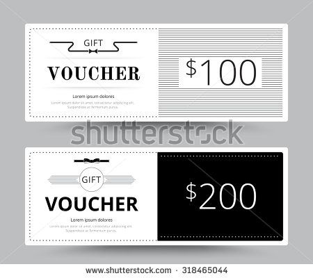 11 best Beautiful gift voucher template images on Pinterest - gift voucher format
