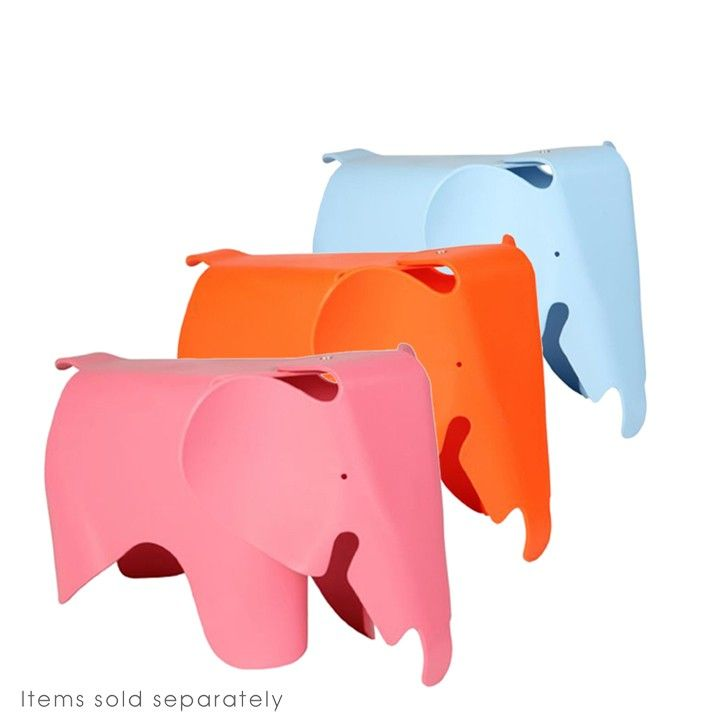 FIVEMORE | Eames Inspired Elephant Chair in Pink - Furniture - 5rooms.com