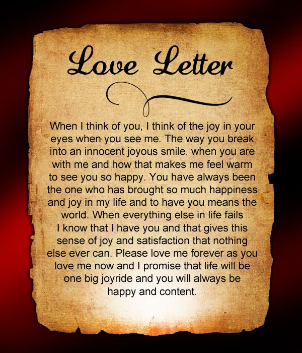 Love Letters for Him #41