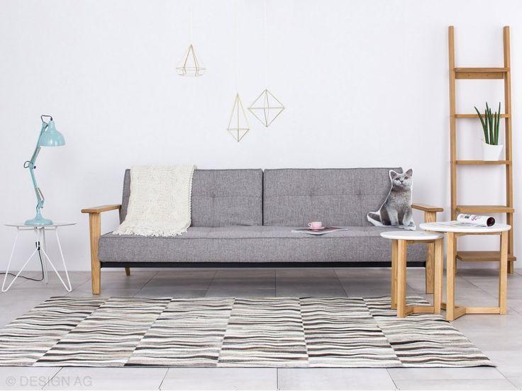 Dywan Opal Szary 140x200 cm — Dywany Linie Design — sfmeble.pl #dywany #carpet #LinieDesign #sfmeble