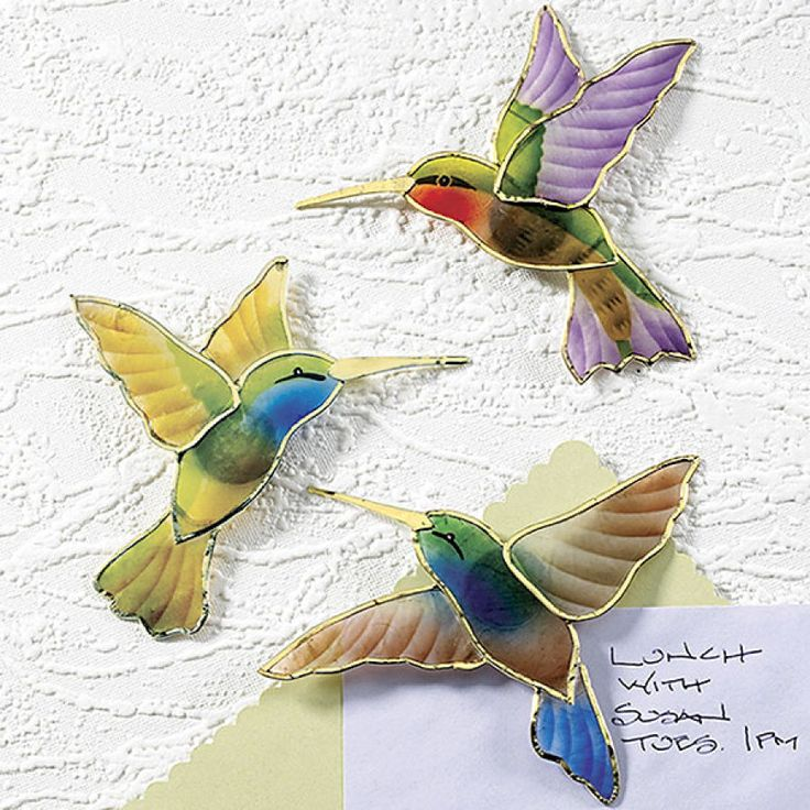 Superieur Set Of 3 Capiz Hummingbird Magnets   Gifts, Clothing, Jewelry, Home Decor  And
