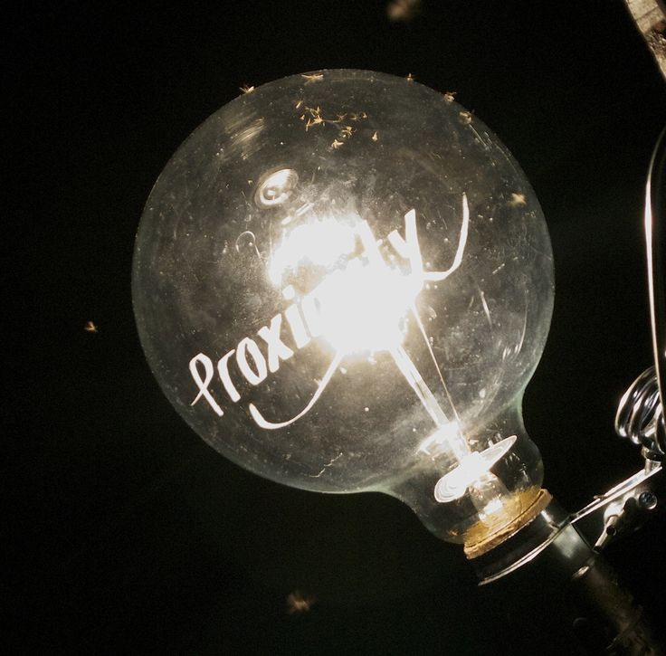HAO NI Proximity (2010)  engraved light bulb