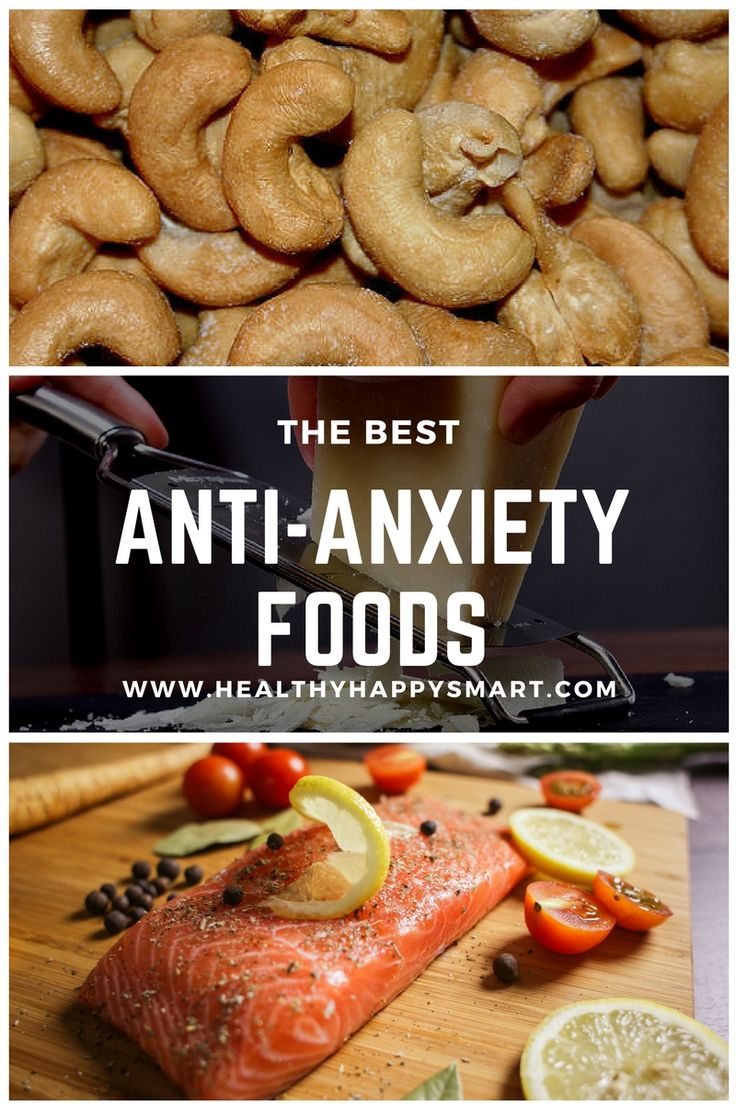 Best foods for anxiety. Feeling anxious, stressed and overwhelmed. Grab some of these anti anxiety foods. Find out what foods help with anxiety & stress.