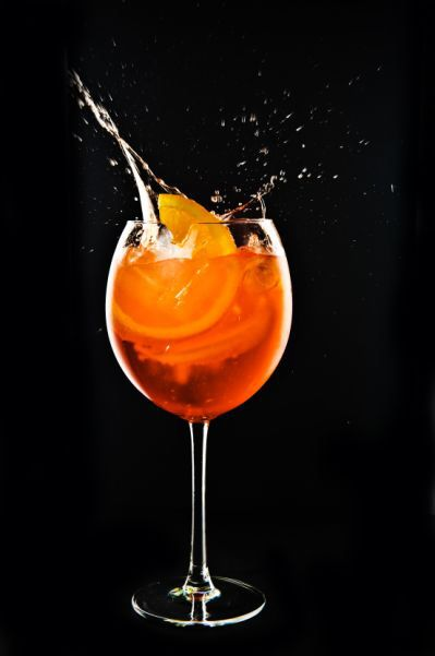 Italy's national cocktail Aperol Spritz