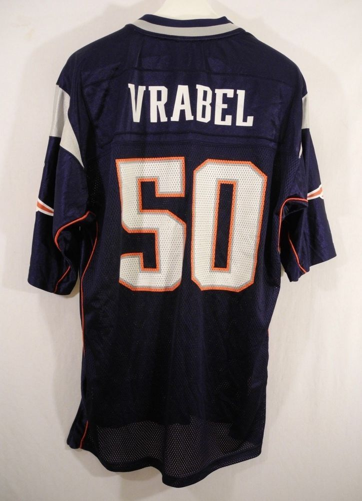 9ac5f1bfc20 New England Patriots Mike Vrabel 50 Jersey Reebok Equipment NFL Mens Large  #Reebok #NewEnglandPatriots
