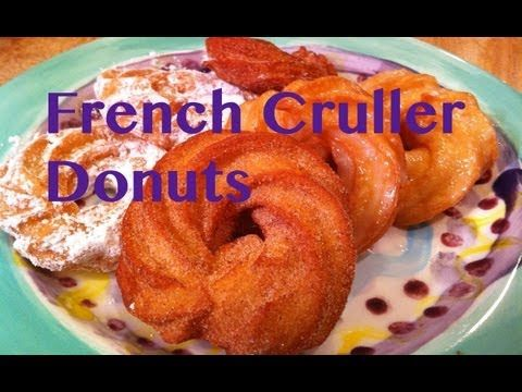 French Cruller Donuts | Recipes-Breakfast | Pinterest