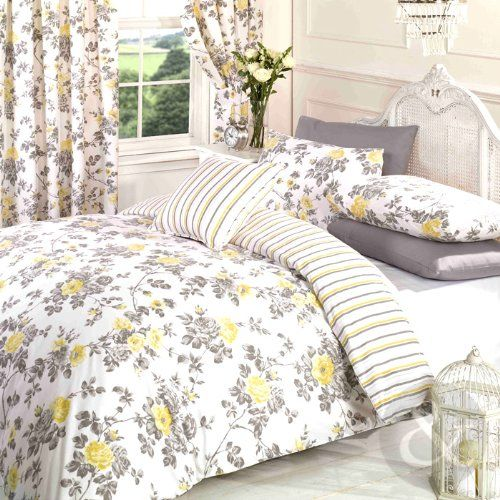 Bedroom Accessories Amazon Bedroom Interior Grey Girls Bedroom Curtain Ideas Yellow Bedroom Furniture: VINTAGE Floral Duvet Cover Poly Cotton Print Bedding Bed