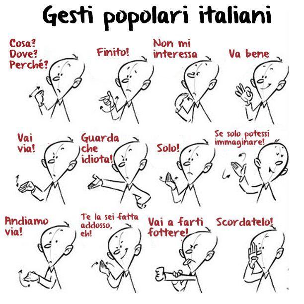 Gesti popolari Italiani