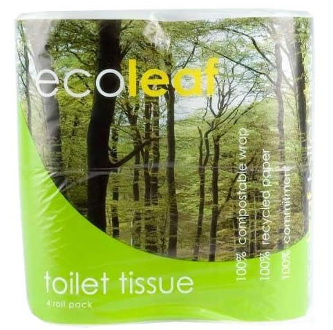 ❌ Ecoleaf Toilet Tissue | Ethical Superstore £2.05