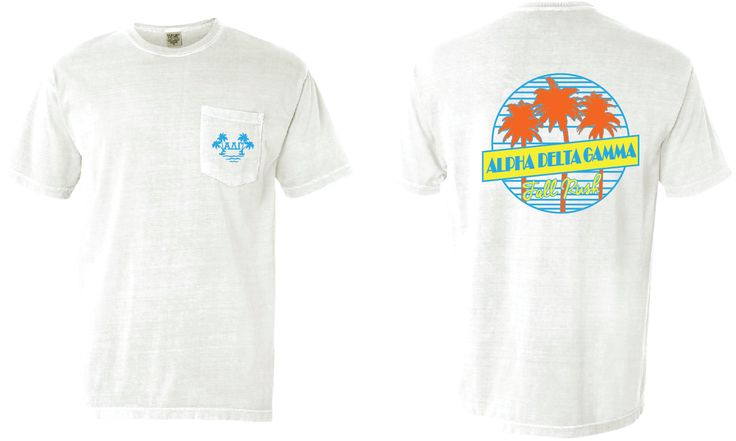 Alpha Delta Gamma   fraternity shirts   design   comfort colors   fall rush   Markt apparel   favorites