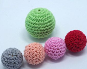 Beaded Jewelry Set DIY Knitting Crochet Baby Chew Teether