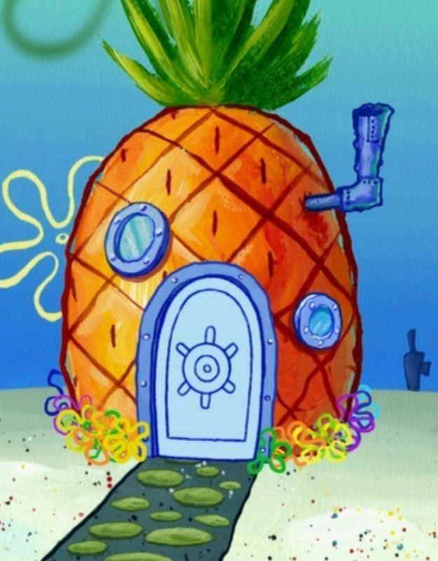Spongebob House Painting : spongebob, house, painting, Marian, Garcia, Esponja, Spongebob, Drawings,, Painting,, Wallpaper
