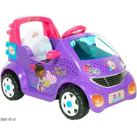 Walmart: Doc McStuffin Ride-On 6v Car Just $69.00! (Reg. $99.97)  - http://www.savingwellspendingless.com/2014/12/17/walmart-doc-mcstuffin-ride-6v-car-just-69-00-reg-99-97/