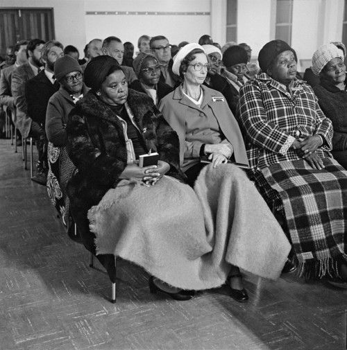 Methodists meet to find ways of reducing the racial, cultural and class barriers that divide them , 1980 David Goldblatt