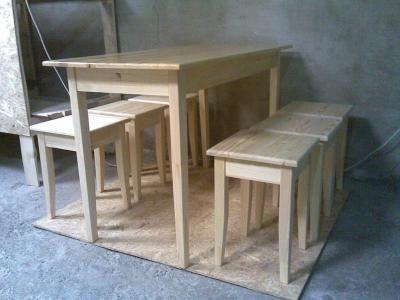 Комплект мебели в трапезную